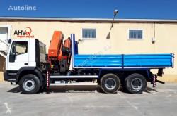 Caminhões Iveco 310 VOLQUETE 6X4 PALFINGER PK 36002 estrado / caixa aberta usado