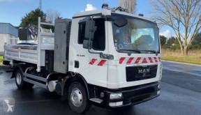 Camion ribaltabile MAN TGL10.220 Dumper truck with crane