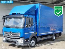 Kamión Mercedes Atego 818 valník s bočnicami a plachtou ojazdený