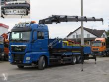 Camion plateau MAN 26.480 TG-S 6x2 Pritsche Kran Hiab 477 Twistlook
