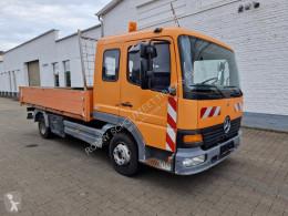 Camion Mercedes Atego 815 4x2 815 4x2 mit CompAir C 30 Kompressor, 2x AHK plateau occasion