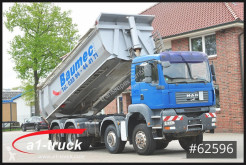 Camion MAN TGA 35.400, 8x6, Kipper, benne occasion