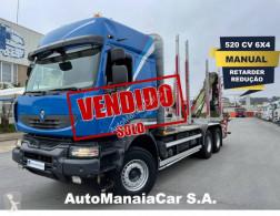 Renault Kerax 520 DXI truck used timber