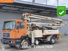Camion MAN F90 calcestruzzo pompa per calcestruzzo incidentato