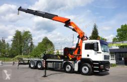 Camion MAN MAN TGA 35.390 8x4 Palfinger PK 56002 Cran Kran/ cassone usato