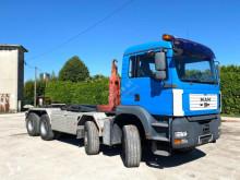 Lastbil MAN TGA 35.430 SCARRABILE BALESTRATO ANTERIORE E P flerecontainere brugt