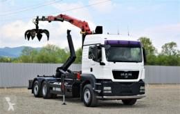 Camion multibenna MAN TGS 26.440 Abrollkipper + PK EPSILON E110Z !
