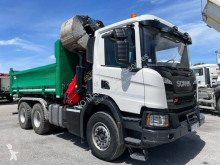 Camion Scania P 410 tri-benne occasion