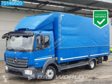 Caminhões caixa aberta com lona Mercedes Atego 818