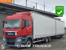 Camión remolque MAN TGX 26.480 lonas deslizantes (PLFD) usado