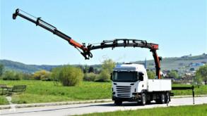 Ciężarówka platforma Scania G420 + PK 27002 + JIB PJ060 + FUNK / 6x4 !