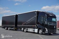 Camion Teloni scorrevoli (centinato) Volvo FH / 460 / XXL / ACC / EURO 6 / ZESTAW PRZEJAZDOWY 120 M3 + remorque rideaux coulissants