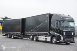 Ciężarówka Volvo FH / / 460 / XXL / ACC / EURO 6 / ZESTAW PRZEJAZDOWY 120 M3 + remorque rideaux coulissants firanka używana