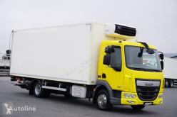 Ciężarówka DAF LF / 210 / EURO 6 / CHŁODNIA + WINDA / 15 PALET / ŁAD. 7 110 KG chłodnia używana