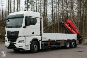 Ciężarówka MAN TGX TGX 26.510 TG3 / Retarder / 6X2 Hiab 548 E 8 platforma burtowa używana