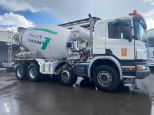 Scania P 340 truck used concrete mixer concrete
