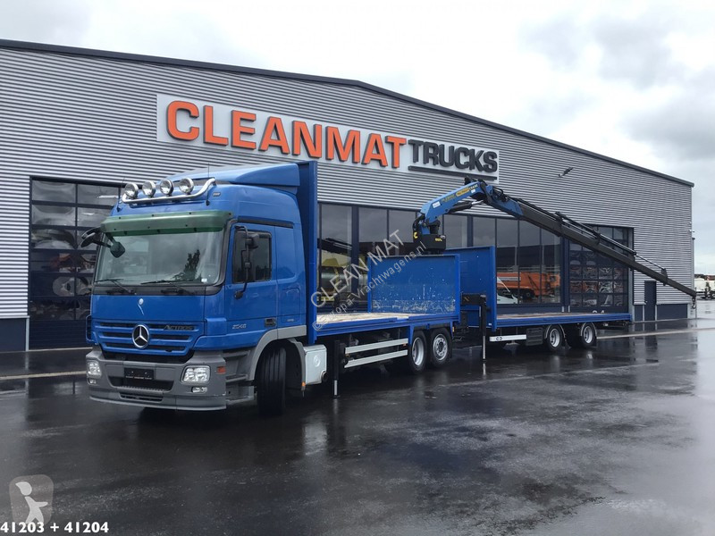 View images Mercedes Actros 2546 trailer truck