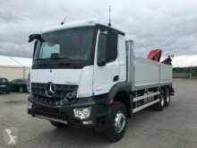 Camión Mercedes 2640 6x4 Fassi 235 Greifersteuerung Baustoff caja abierta teleros nuevo