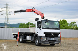Camion plateau Mercedes ACTROS 2536 Pritsche 6,50m +FASSI F150A.22+FUNK