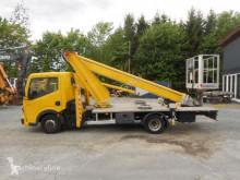 Camión plataforma elevadora Renault Maxity