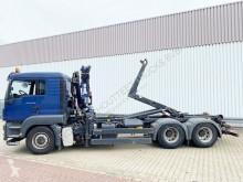 Camion châssis MAN TGS 26.480 6x6H BL 26.480 6x6H BL, HydroDrive, Kran Terex TLC 120.2E, Funk