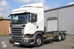 Scania R 450 6X2 BDF etade LDW ACC 2x AHK LKW gebrauchter Fahrgestell