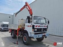 Camión Renault Gamme S 170 fassi F 65 caja abierta usado