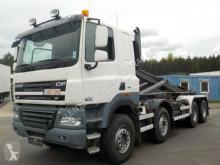 DAF skip truck CF510-8X4-EEV-MANUAL-RETARDER-