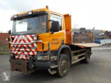 Camion tri-benne Scania P114-340-4X4-BORDMATIC-WINTERD