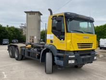 Camión Iveco 260 T41 SCARRABILE BALESTRATO ANTERIORE E PN Gancho portacontenedor usado