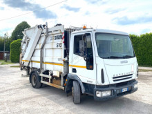 Camion benne à ordures ménagères Iveco 100 CON COMPATTATORE PER RIFIUTI