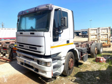 Maquinaria vial camión volquete para residuos domésticos Iveco 190 E 35 CON COMPATTATORE PER RIFIUTI CON PE