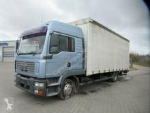 Camion MAN TGL 12.240 TGL Gardine, Ladebordwand,AHK,großes Haus rideaux coulissants (plsc) occasion