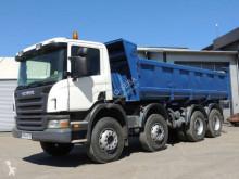 Camion Scania C 114C380 ribaltabile trilaterale usato