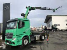 Mercedes Actros Actros 1843 LS Palfinger PK18502+Fly-Jib+Winde tractor unit used