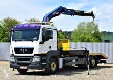Camion MAN TGS 26.320 Abschleppwagen 8,00m + PM SERIE 19 ! plateau occasion