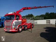 Camion Scania R R560 V8 Abroller + HIAB 244EP + 5xHydr. polybenne occasion