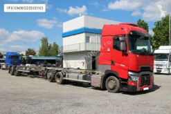 شاحنة هيكل Renault T DTI 13 480, EURO 6, 6x2+TRAILER (BDF) PANAV
