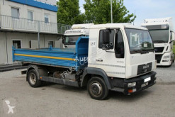 Camion MAN LE 140 C, THREE-SIDED TIPPER, AFTER SERVICE, TOP benne occasion