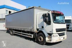 Kamión DAF LF 55.250, EURO 5 EEV, REAR TIRES 90% plachtový náves ojazdený