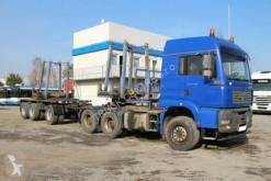 Camion MAN TGA 33.480+GOLDHOFER SN3 (BETON TRANSPORT) usato