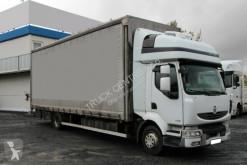 Camion Teloni scorrevoli (centinato) Renault MIDLUM 270.12, EURO 5, TIRES 80%