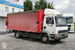 Camião caixa aberta com lona DAF FA 55 15.210, ALUMINUM SIDE PANELS, TIRES 80%