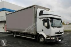 Lastbil Renault MIDLUM 270.12, EURO 5 EEV, TIRES 80% glidende gardiner brugt