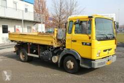 Camion plateau Renault MIDLINER S 150, EURO 2, TIRES 80%