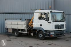 Camión MAN TGL 8.180, EURO 3, CRANE/KRAN EFFER 1870 KG caja abierta usado
