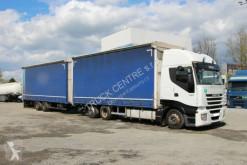 Camion rideaux coulissants (plsc) Iveco STRALIS AS260S42, EURO 5+PANAV TV18L, AXLES SAF