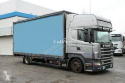 Грузовик шторный Scania R 420, HIGH LINE, EURO 3, 16 PALLETS