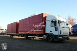 Camión Iveco ML 120E25, EURO 4, TAIL LIFT+TRAILER AGADOS DONA lona corredera (tautliner) usado