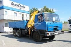 Camião Tatra T 815, 6x6,CRANE/KRAN, 6000 KG, 360° estrado / caixa aberta usado